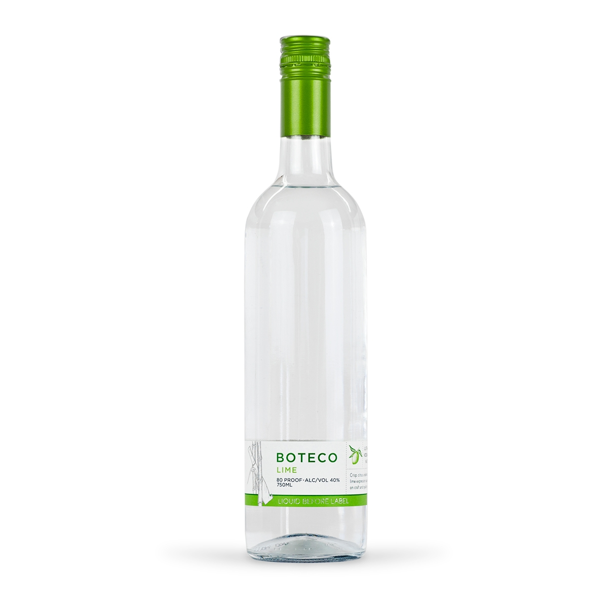 BOTECO Lime - Lime Brazilian Cane Vodka - All Natural Gluten Free Ultra Premium.jpg