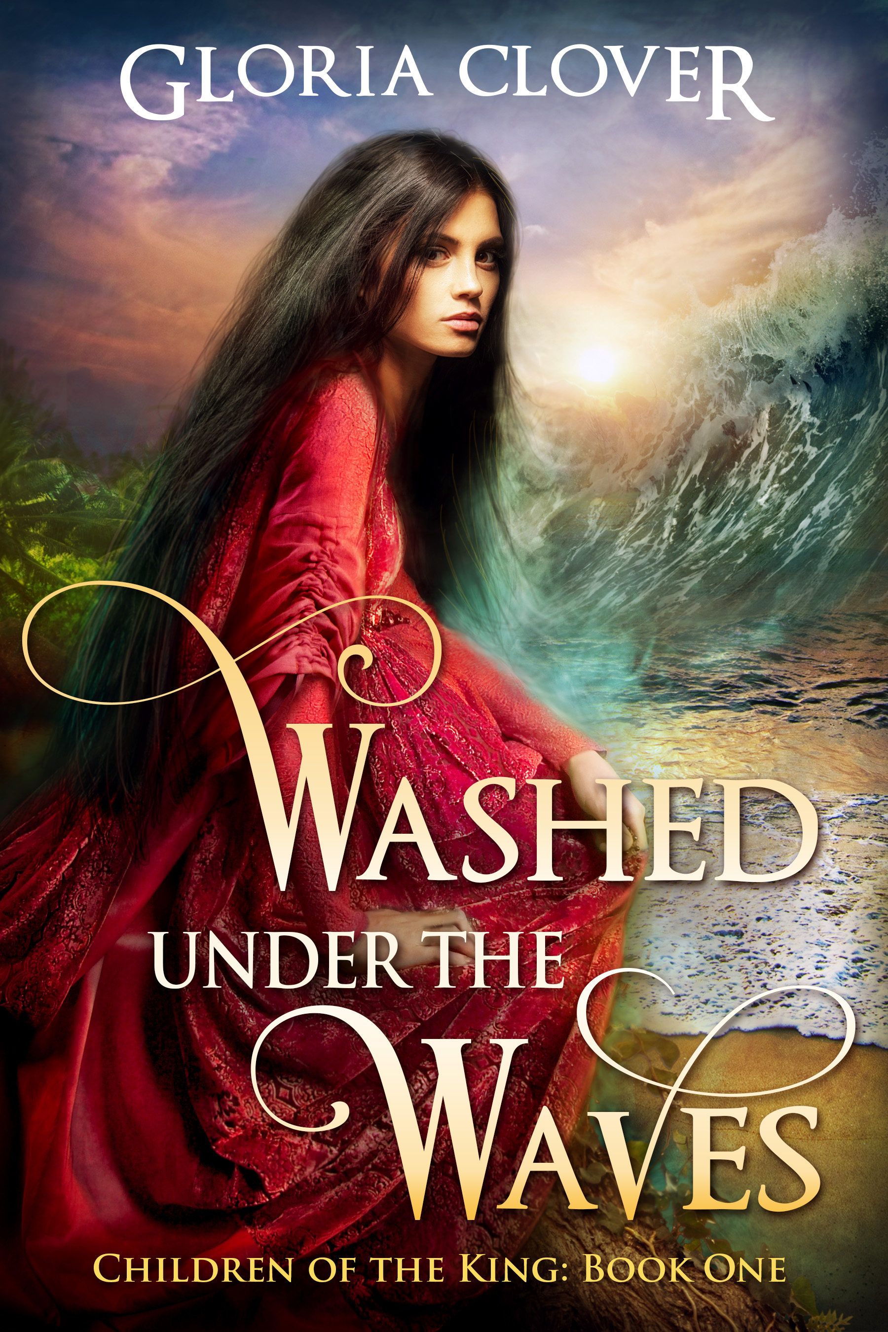 Washed Under the Waves - Gloria Clover
