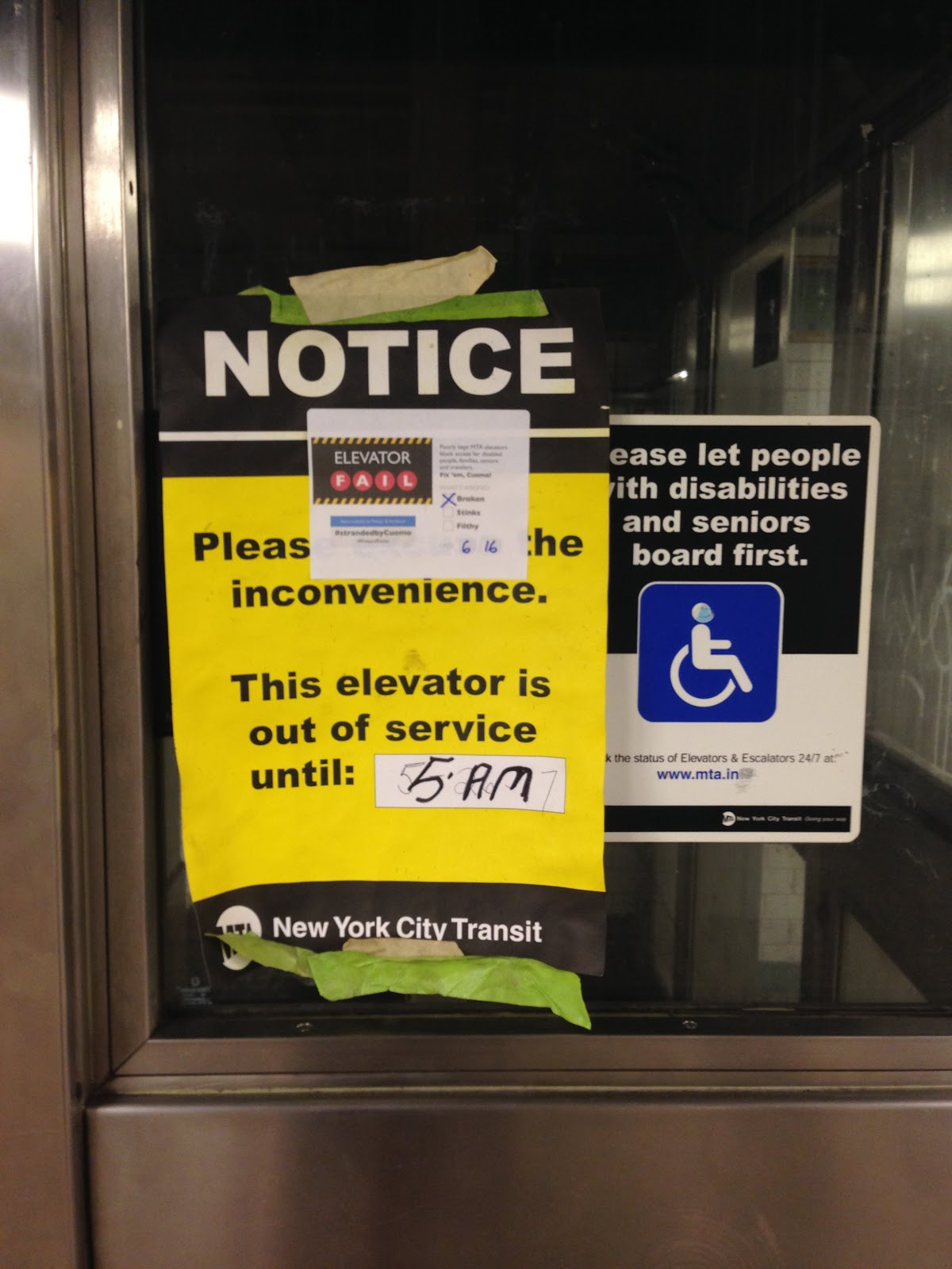 Mta Subway Map Elevators.Elevator Action Group Rise And Resist