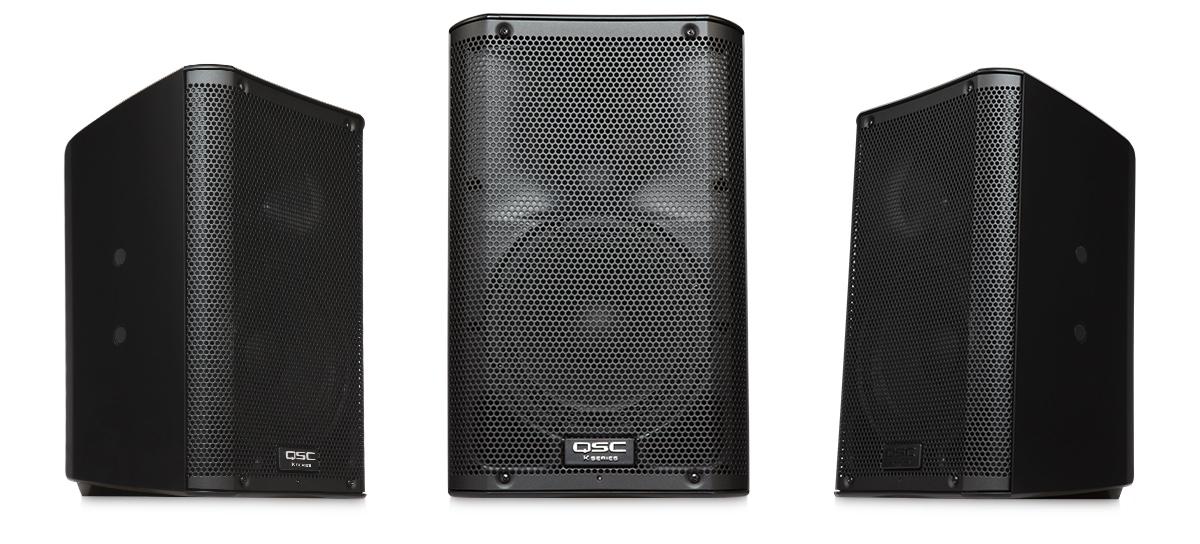 QSC K8 2-way powered speaker, 1000w - $75