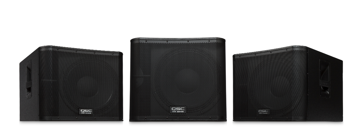 QSC KW181 18'' powered subwoofer, 1000w - $125