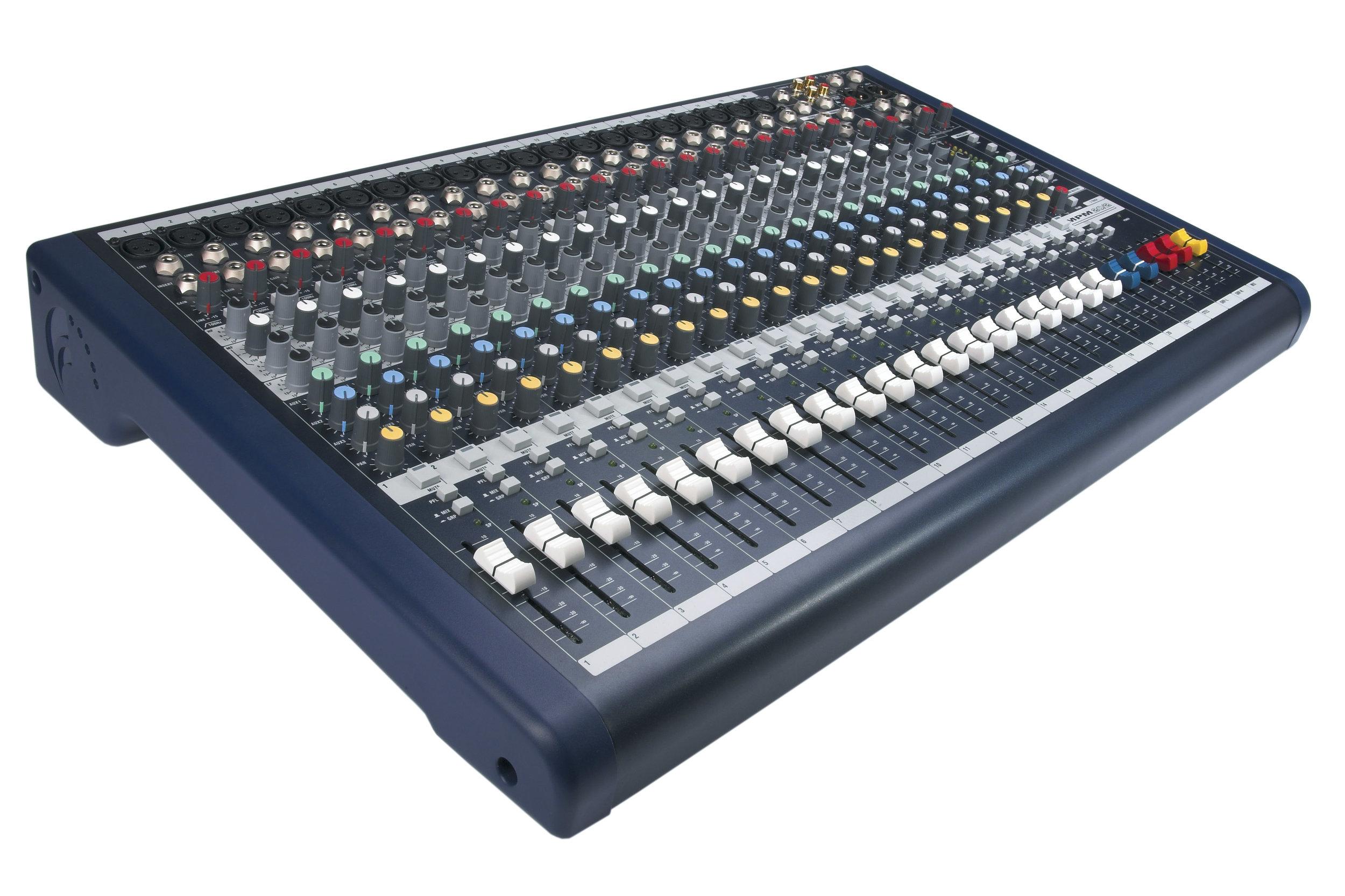 Soundcraft MPM 12 channel mixer - $75