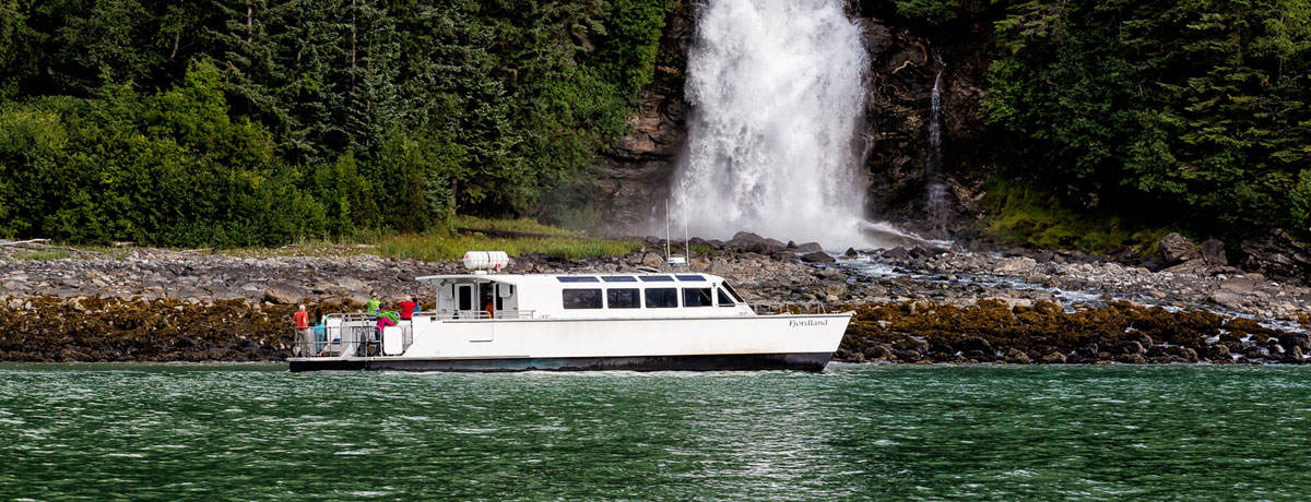 The Fjord Express to Juneau