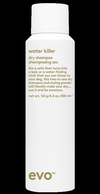 EVO Water killer dry shampoo hair styling product