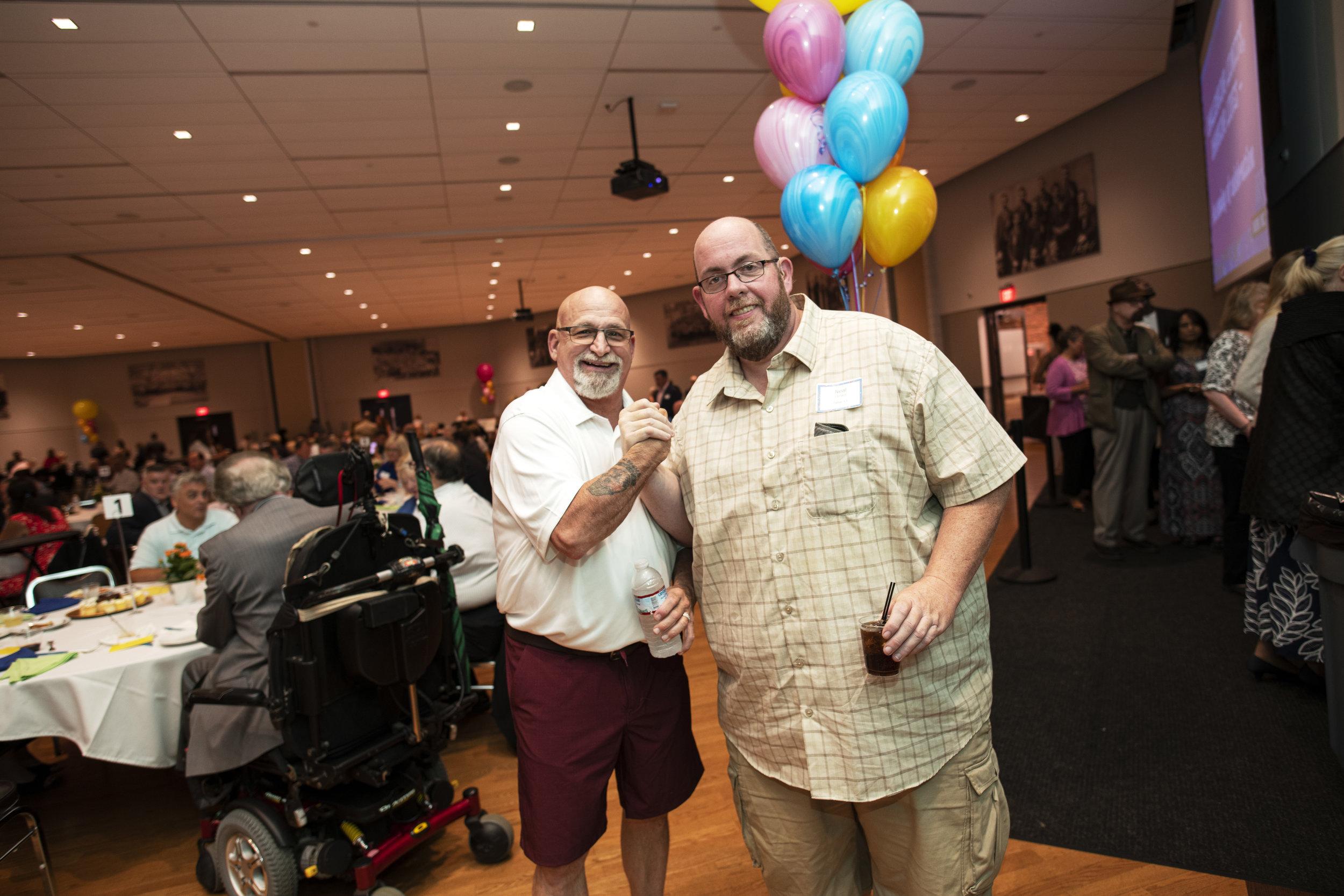 L-R WORK Inc Staff Members Allen Bradley and Gerard Neal .jpg