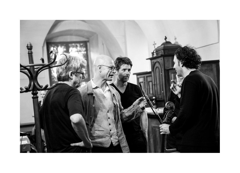 Backstage Peter Laenger, Albert Hosp. Nicolas Dautricourt, Nicolas Altstaedt