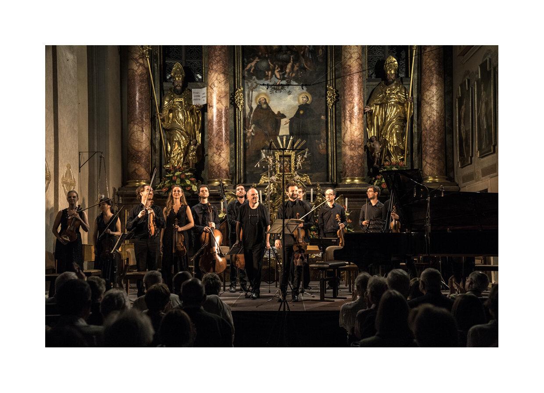 Alexander Lonquich & Ilya Gringolts, Lockenhaus Festival Ensemble, Eröffnung 04.07.19