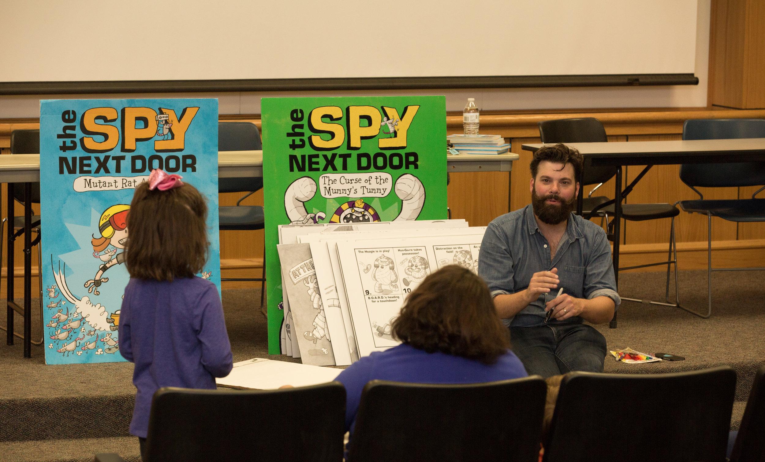 Virginia Children's Book Festival, Farmville, VA • October 2017
