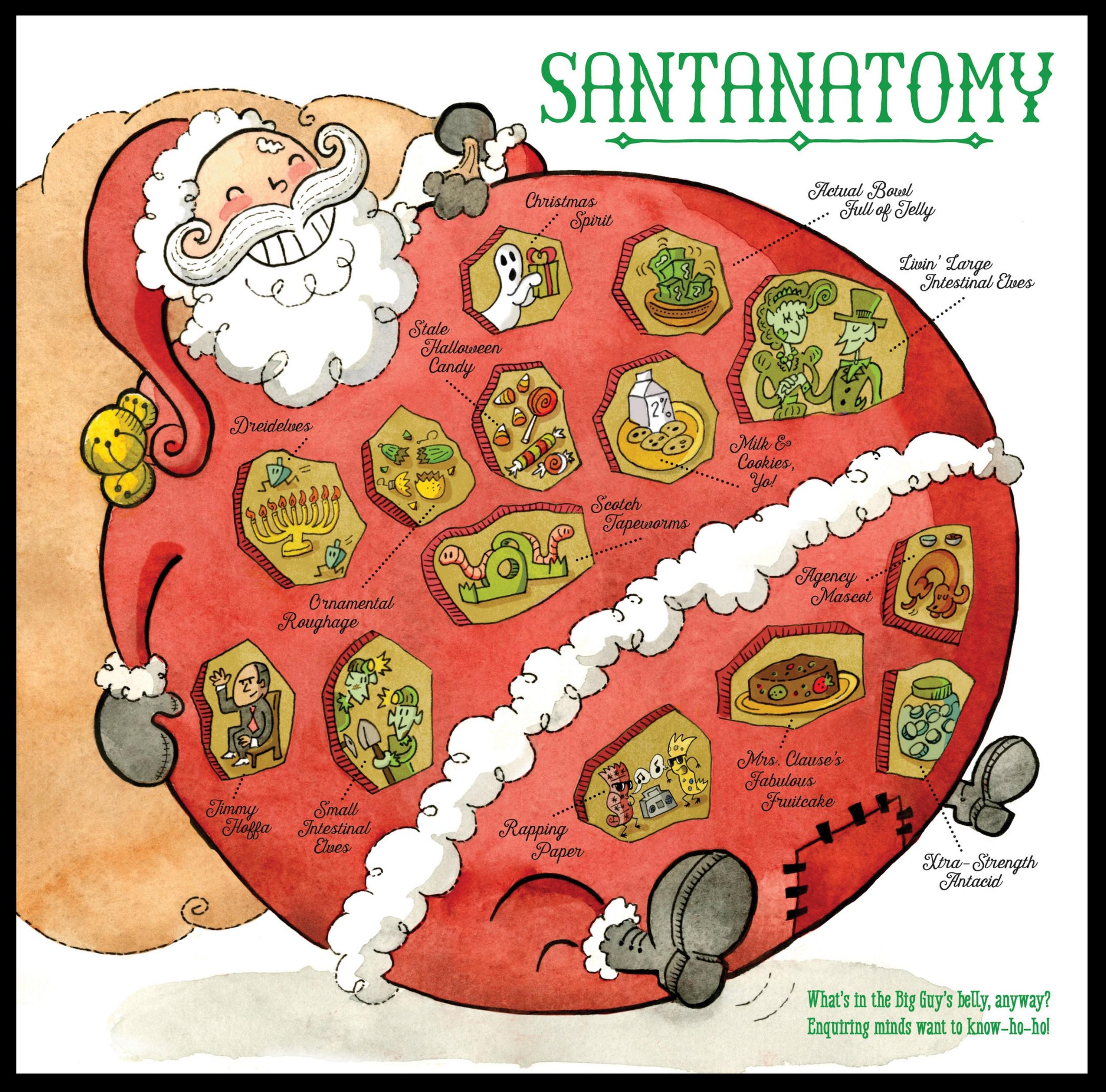 Santanatomy, 2016