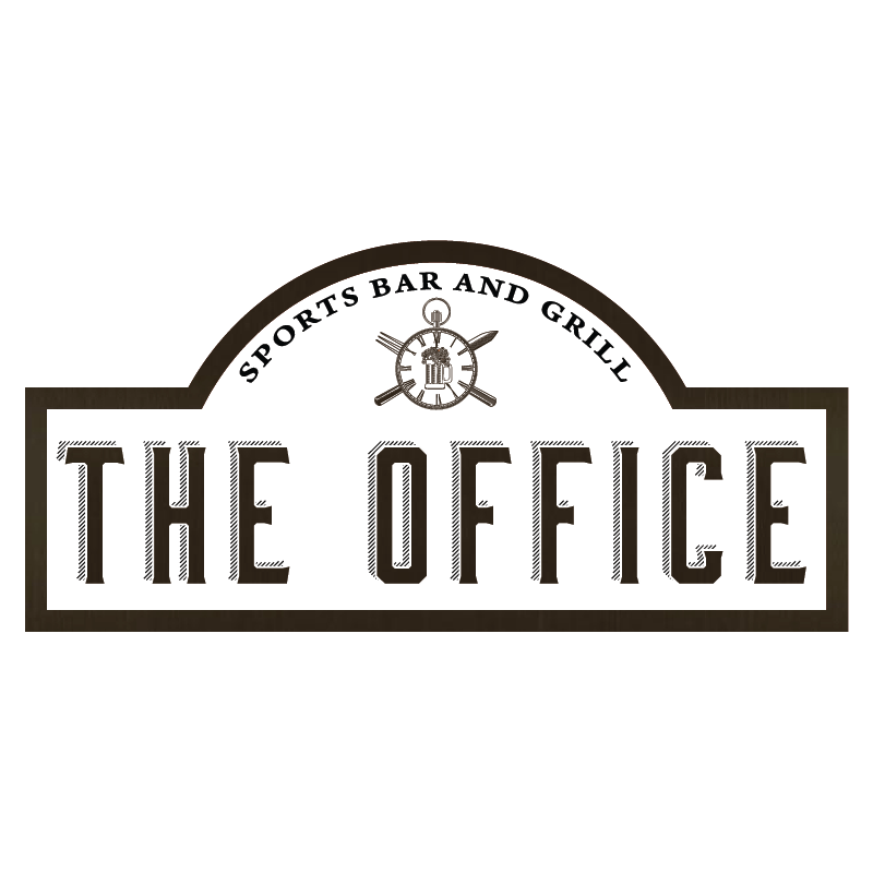 the office sports bar and grill athens ga logo