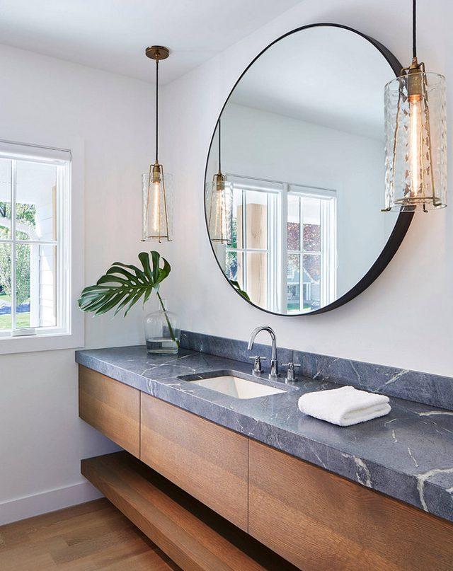 Bathroom Mirrors Are Going Full Circle Fox Homes