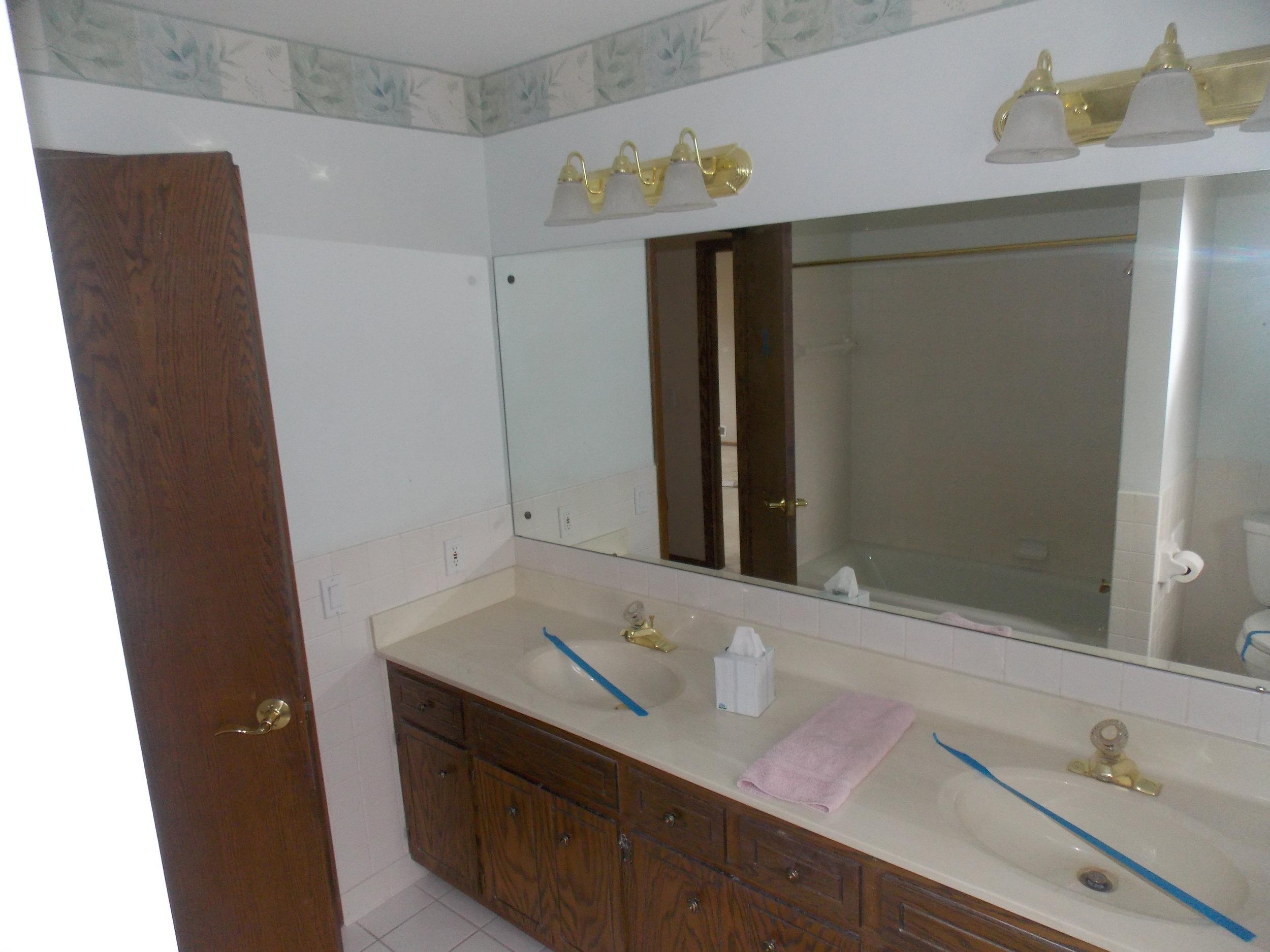 Kids Hall Bath Before