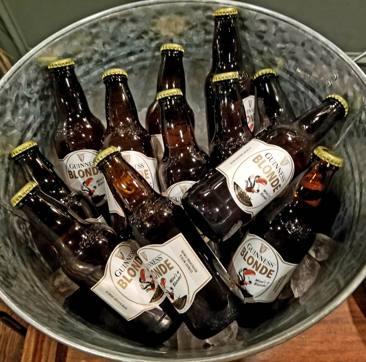 A Bucket of Beer always makes a good party