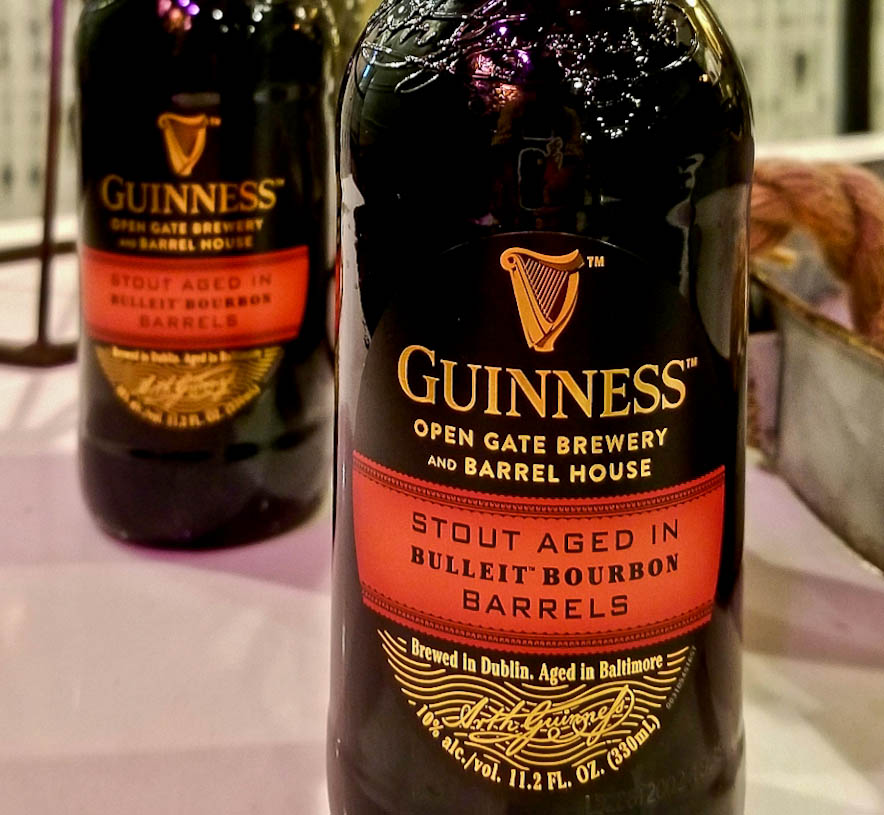 We were one of the lucky ones, only 300 cases of Stout Aged in Bulleit Bourbon Barrels made it to the United States