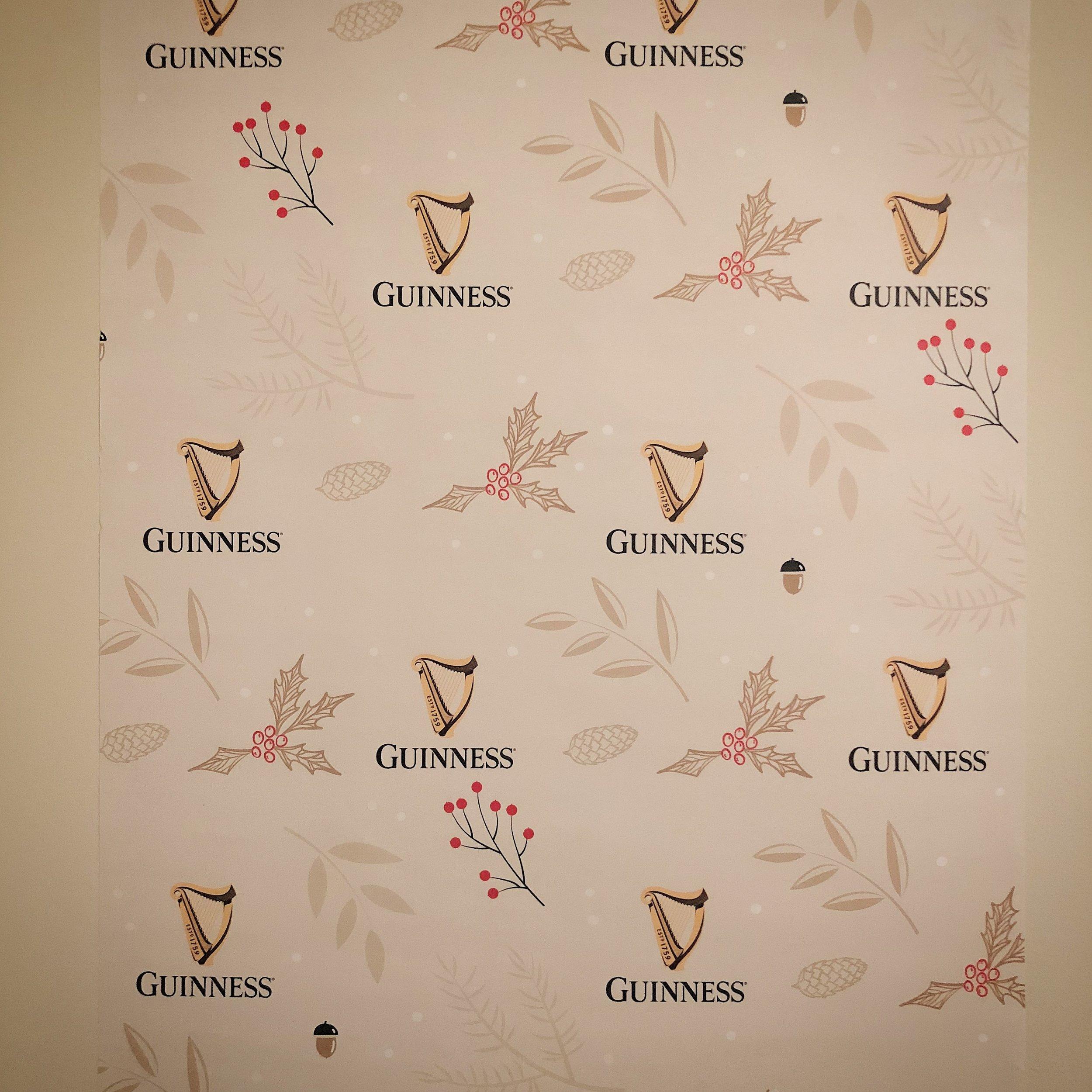 Guinness wall art