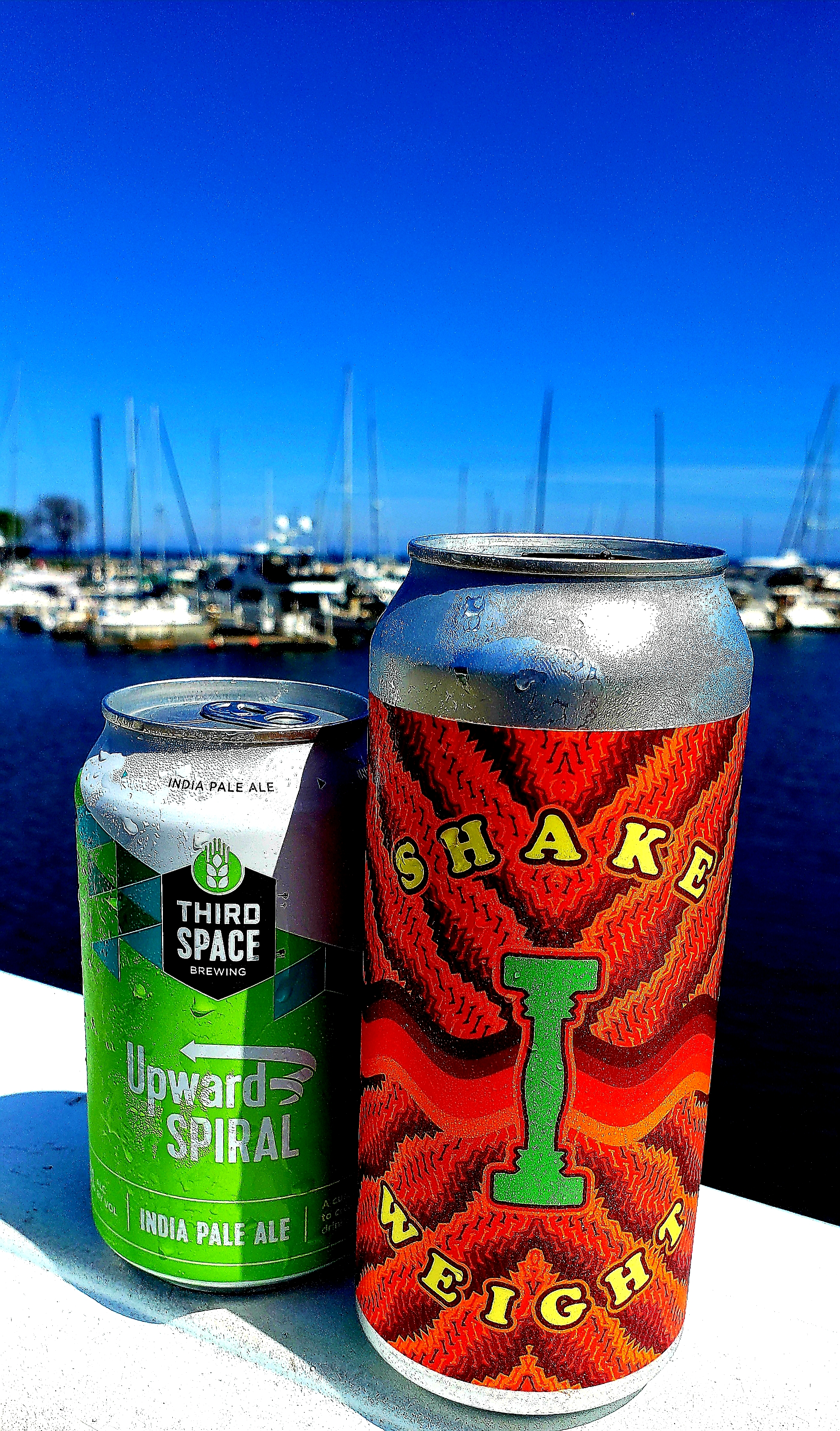 The vibe at MKE's lakefront is so chill. You find yourself enjoying the break with Third Space's Upward Spiral and Eagle Park's Shake Weight.