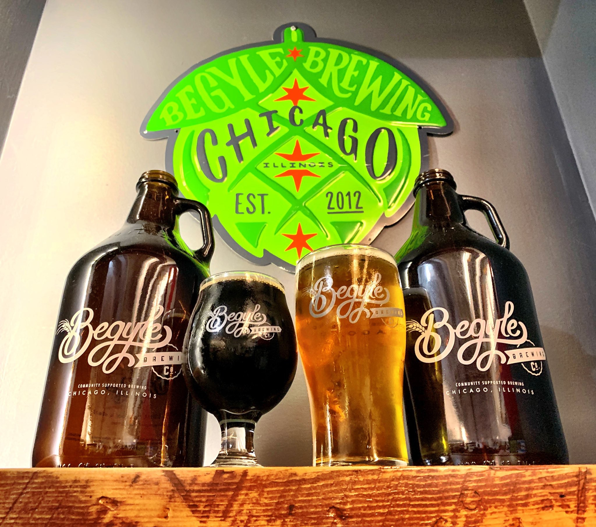 Begyle Brewing  - 1800 W Cuyler Ave, Chicago, IL 60613