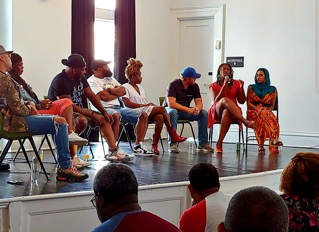 Symposium: The panel discussing Diversity in Beer