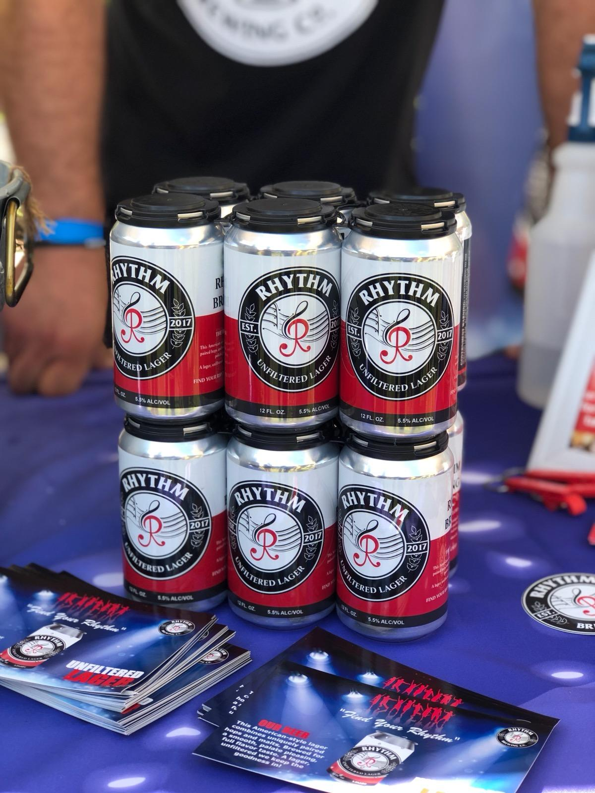 The first beer I tried at Fresh Fest and the only one I knew by name, afterwards I lost track. Rhytm Brewing was pretty damn good.  Photo Credit: IG  blackandbrewchicago
