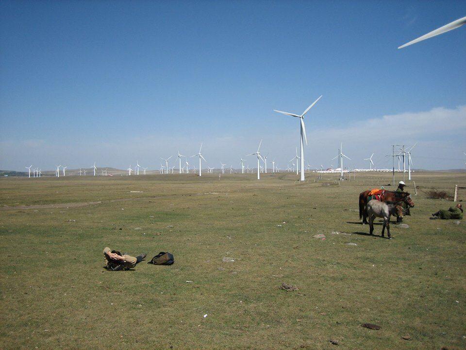 Mongolia, somewhere in 內蒙古.