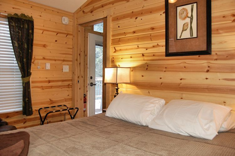 Bedroom in private cabin