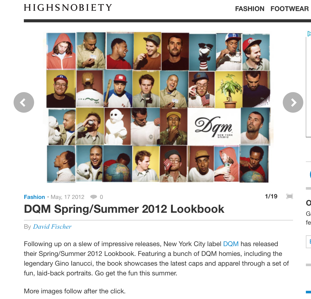 High Snobiety | DQM Spring 2012 Review