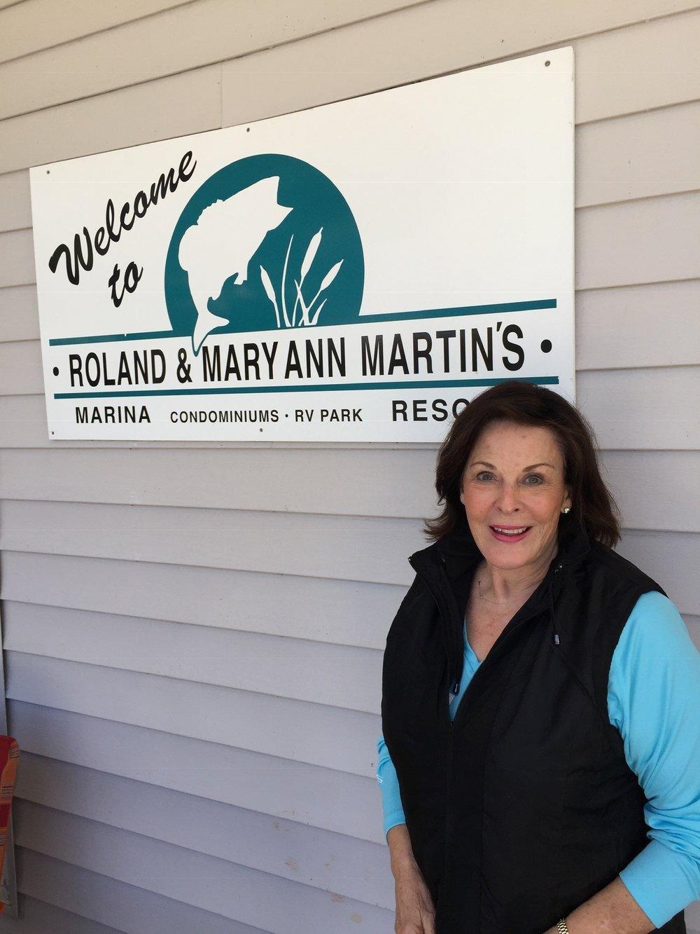 2019 Honoree, Maryann Martin