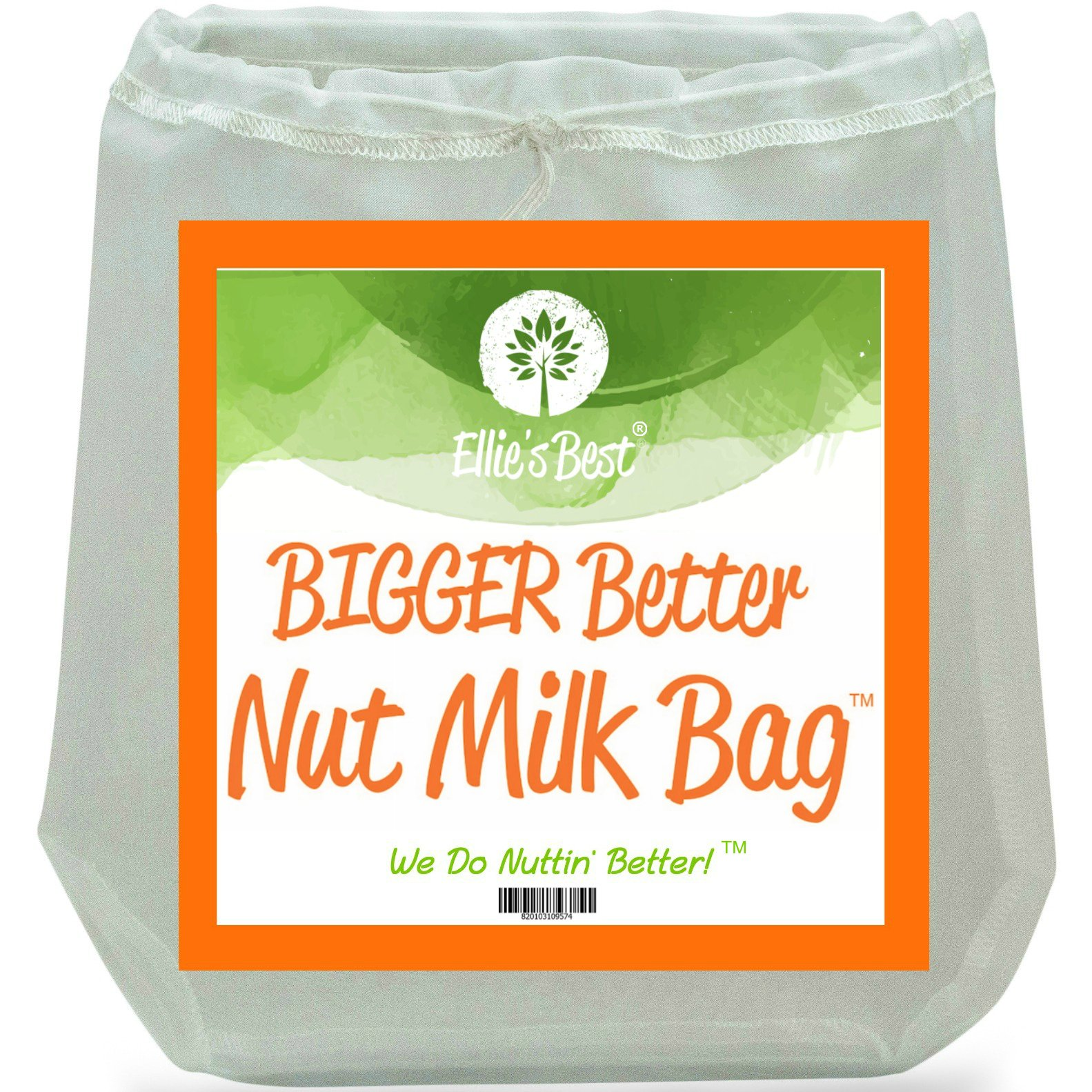This Nut Milk Bag is life changing!  The quality is incredible. It's large enough to handle double jobs, to make cauliflower pizza, to make juice without a juicer, cold brew and more.  Use the code 'brighbeanhealth' for a 10% off savings . Share the magic you make with it with me on Instagram :)