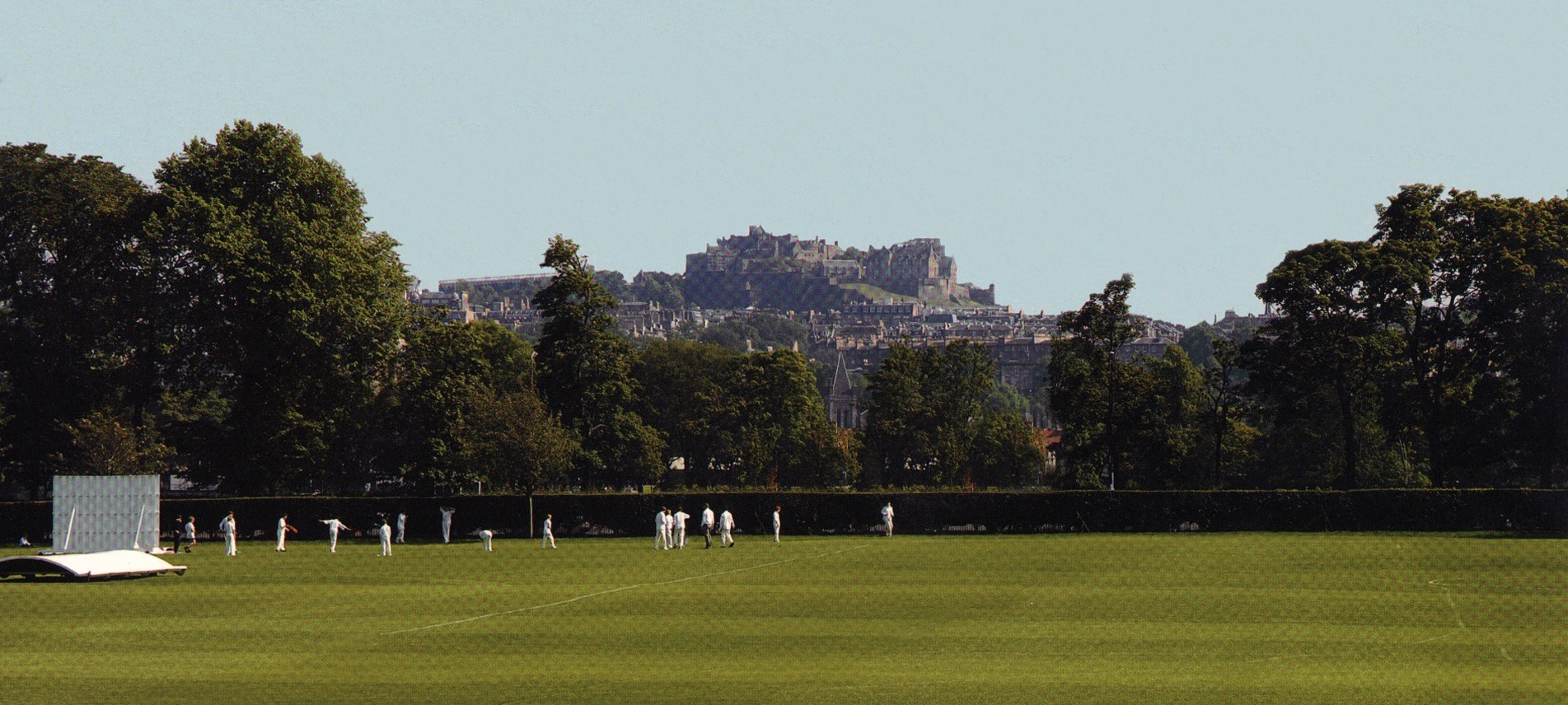 Edinburgh Castle from New Field.