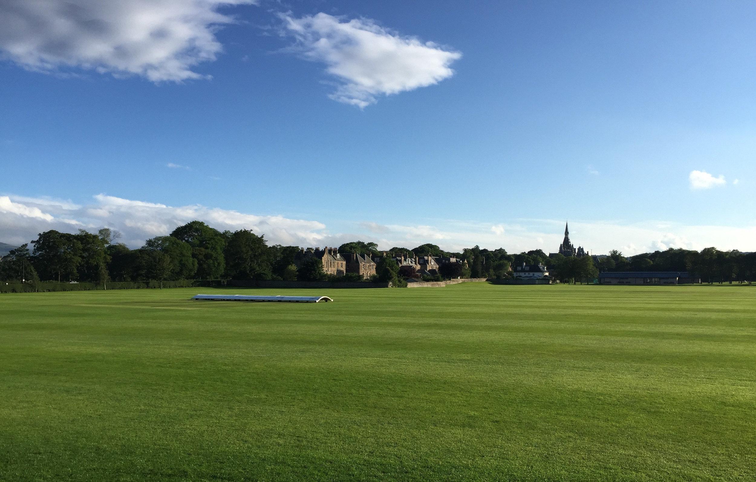 New Field view of Fettes College.