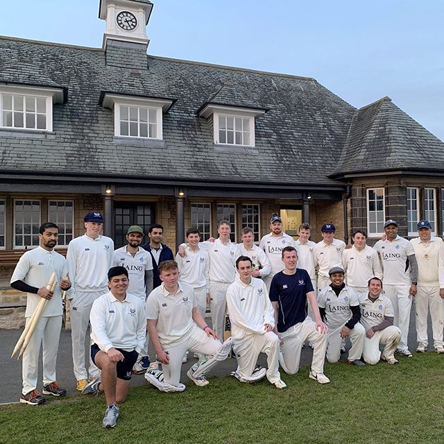 Congratulations to the Academy 1st XI on a fantastic performance. Very impressed by the talent and potential of the team with exciting futures ahead. All the best for your season!  #cricket #edinburgh #scotland #t20 #accies