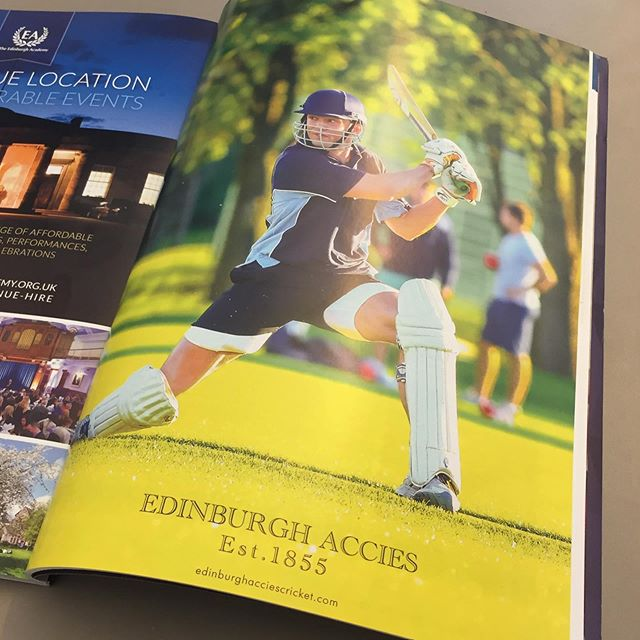2018 was a record-breaking season for Accies, including a hat-trick of promotions! Read the Academical Magazine 2018 report: bit.ly/2L4xNc5  #cricket #edinburgh #scotland #scottishsummer #britishsummer #thisisedinburgh #magazine #t20 #accies #edinburghacademy #edinburghaccies