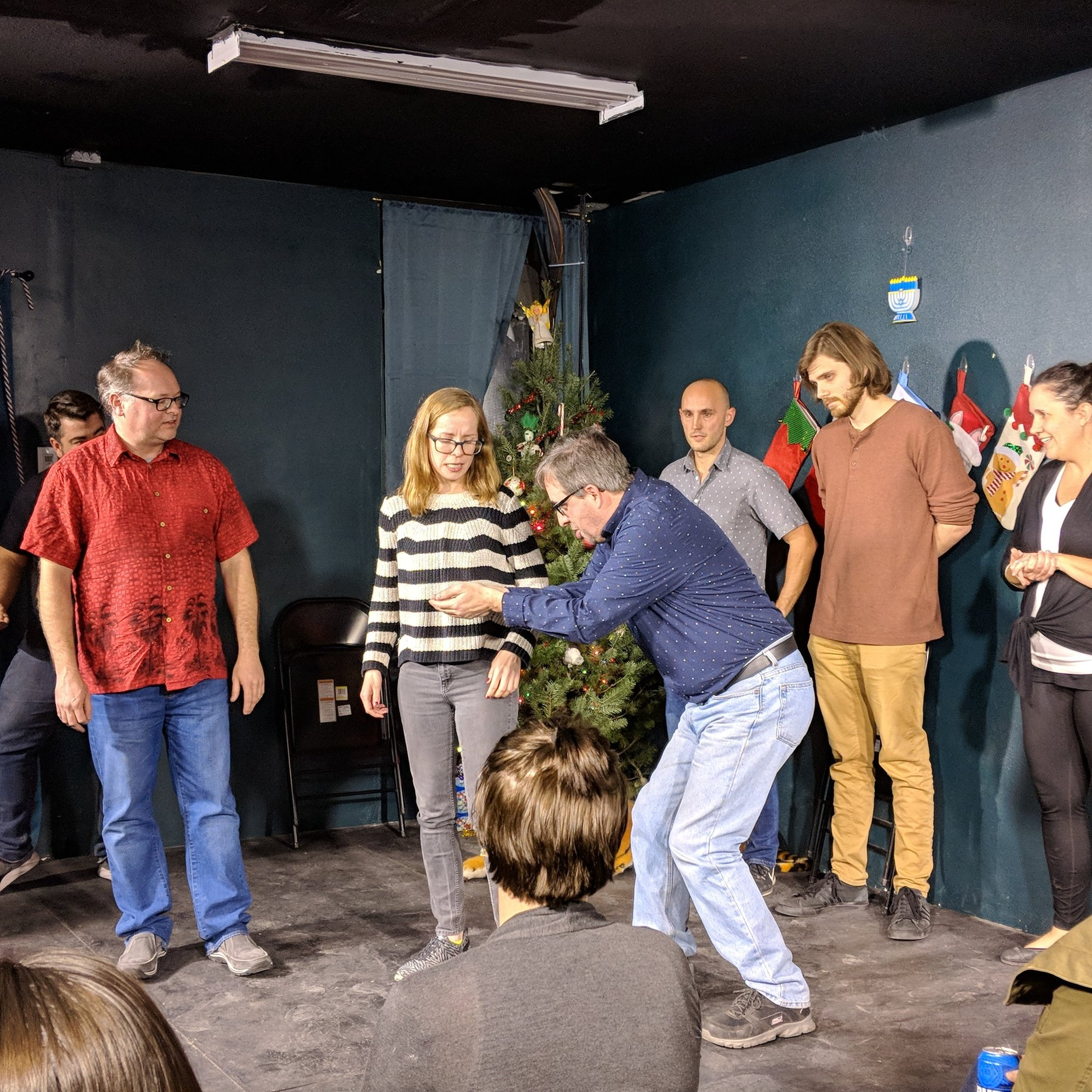 Lil' Stack of Pancakes   coached by    Daniel Horsey    Lil' Stack of Pancakes LOVES focusing on relationship-based narrative and just doing things! Check them out on Wednesdays at SYP Awesome Improv Show!