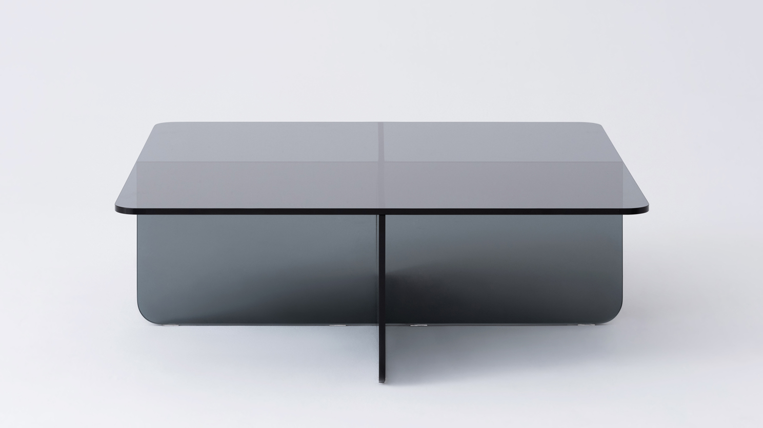 Verre Square Gl Coffee Table M Collection Home