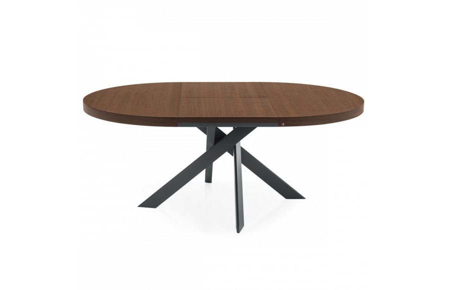 Tivoli Round Extendable Dining Table M Collection Home