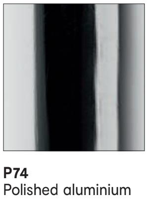 P74 Metal Polished Aluminium - Calligaris - M Collection .png