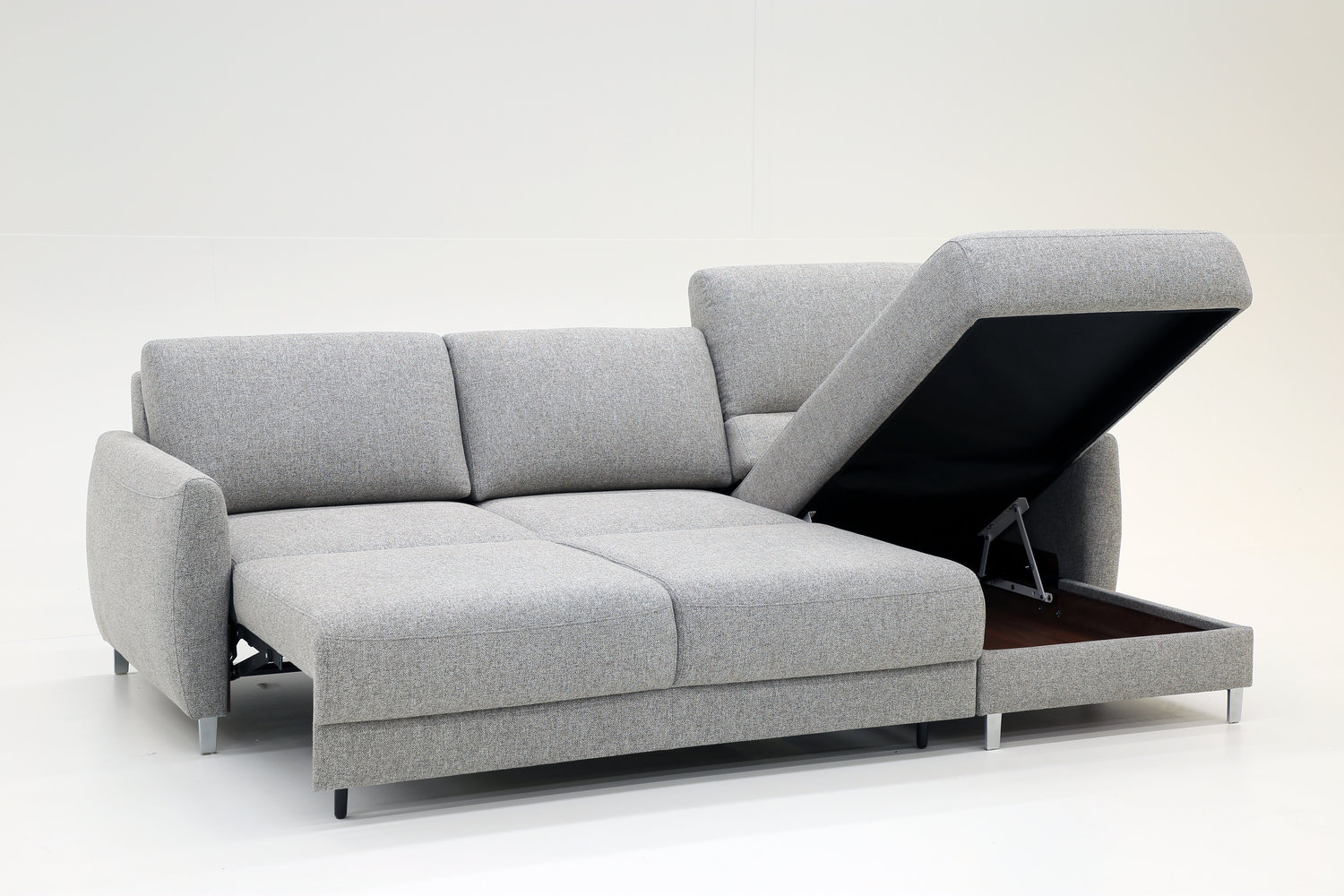 Delta Sectional Storage Sofa Bed M Collection Home