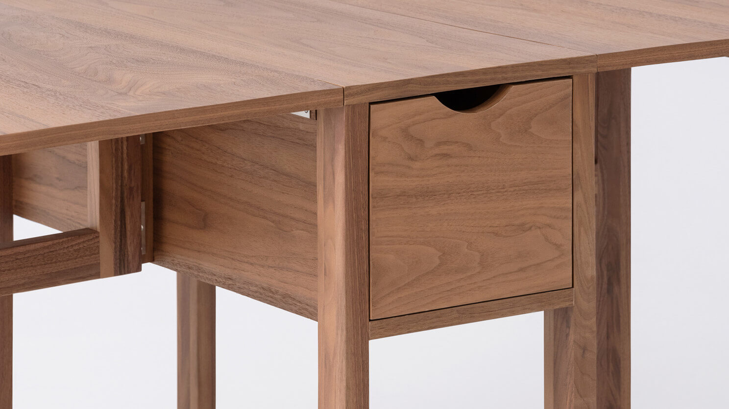 - Hallie Folding Dining Table — M Collection Home