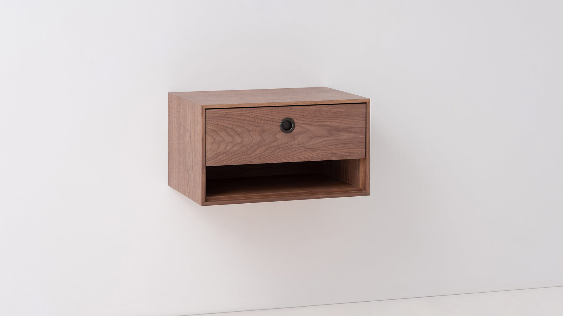 Replay Floating Nightstand With Open Shelf M Collection Home