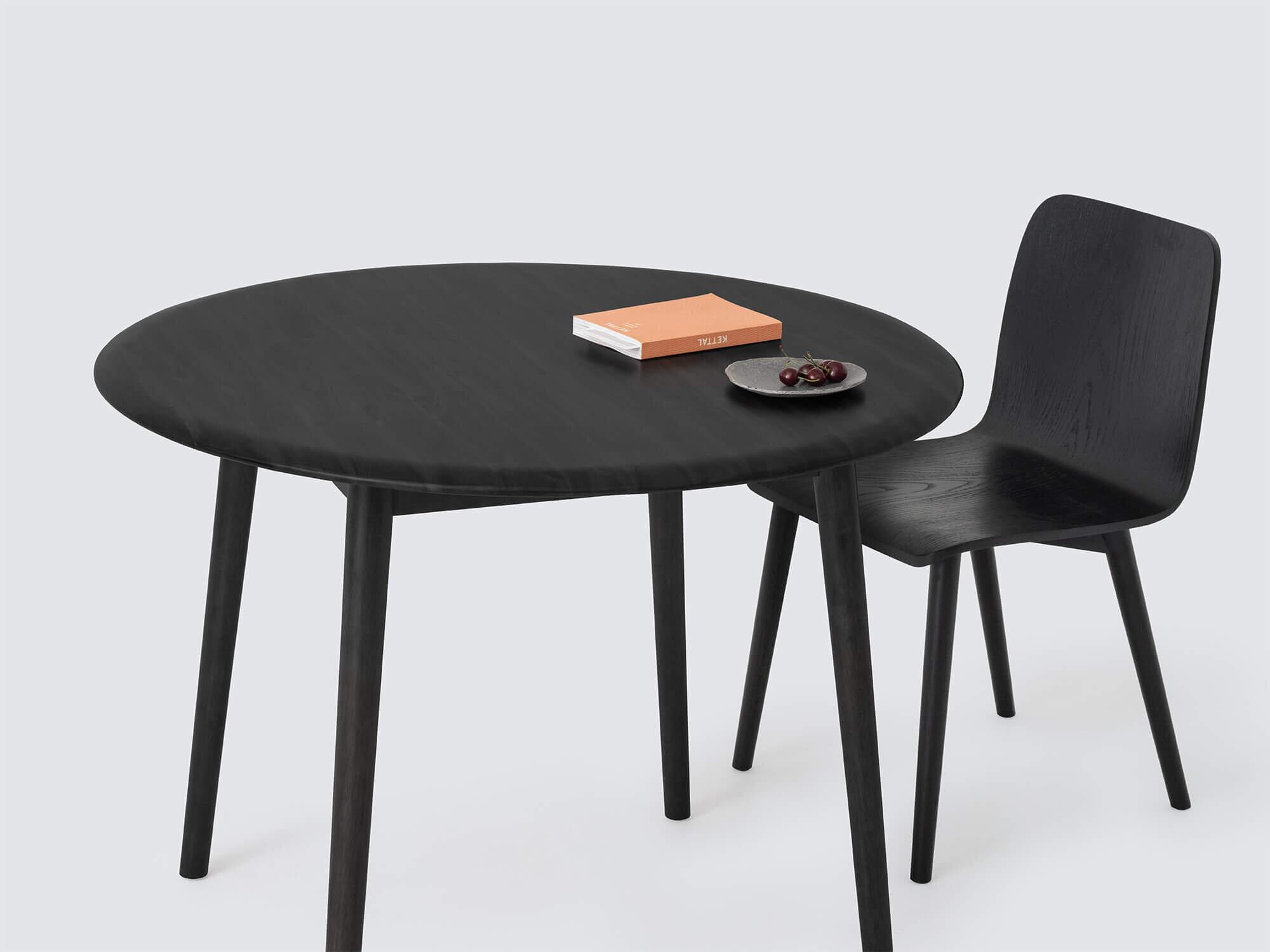 Kacia Small Circle Dining Table M Collection Home
