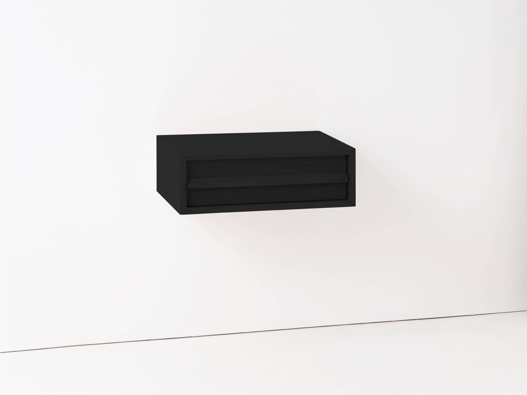 Marcel Single Floating Shelf Nightstand M Collection Home