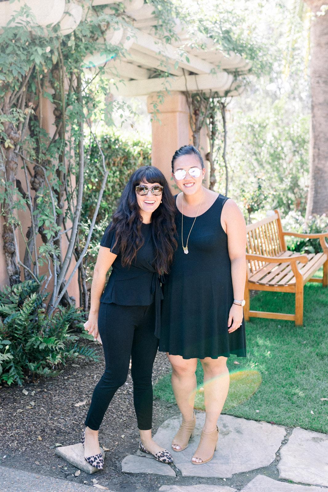 Alexis Sanabria, Vendor Partnerships Manager & Cami Tran, Events Manager for Exquisite Weddings Magazine
