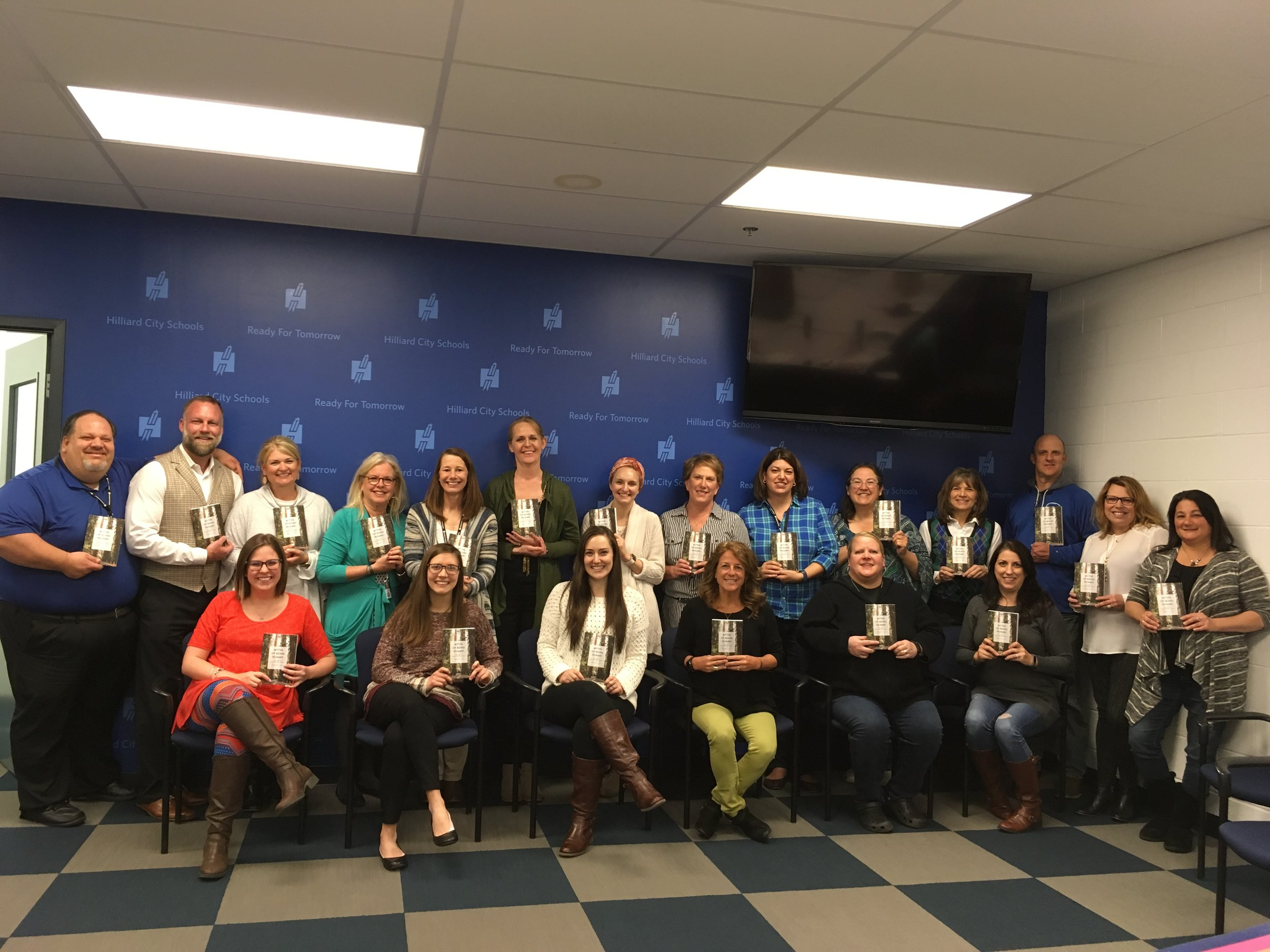 Hilliard City Schools - I received all positive feedback about the mindfulness course with Brandi. All participants I talked to were so glad to be able to have this offered to them and felt value in each session.— Molly Martin, Wellness Coordinator