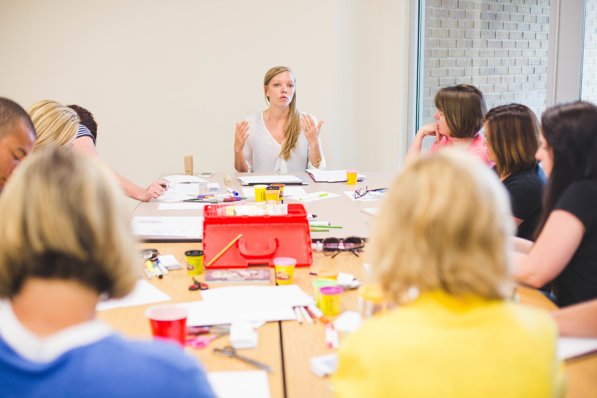 Three workshop series - can help you meet the needs of your employees and leaders. Each workshop can stand alone, or be combined with others in its series for a half or full day of professional development.