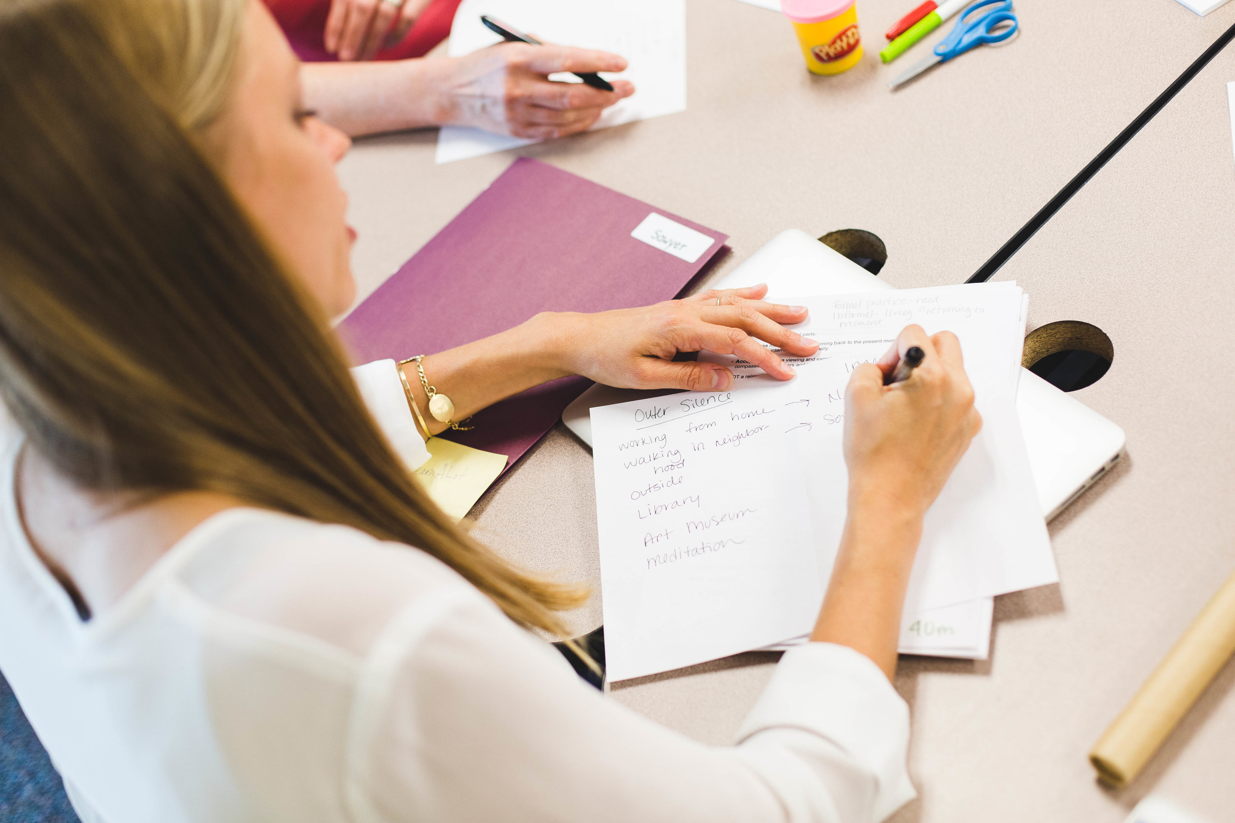 Provide your employees with tools - to better manage stress and build resilience.Workshops can stand alone, or be combined for a half-day or full-day retreat experience.