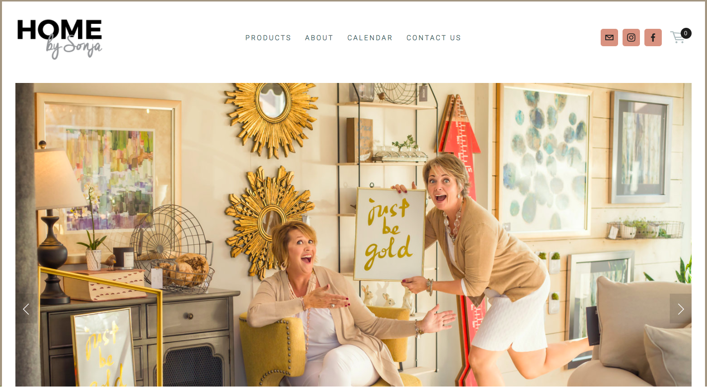 Home by Sonja Website