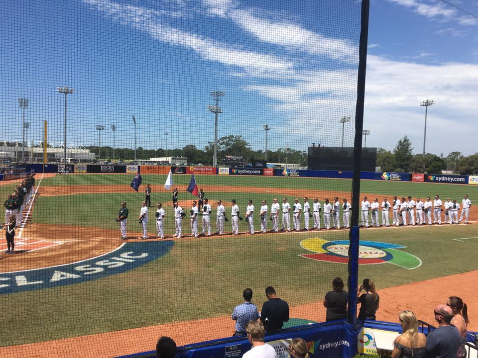 World Baseball Classic Qualifier, Sydney 2016