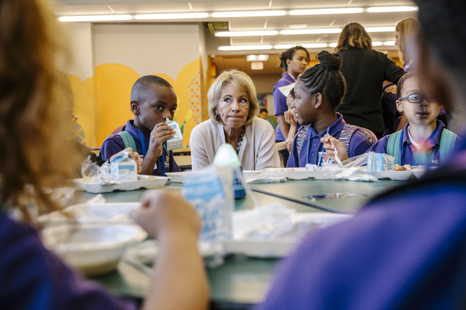 Betsy Devos Back to School Tour