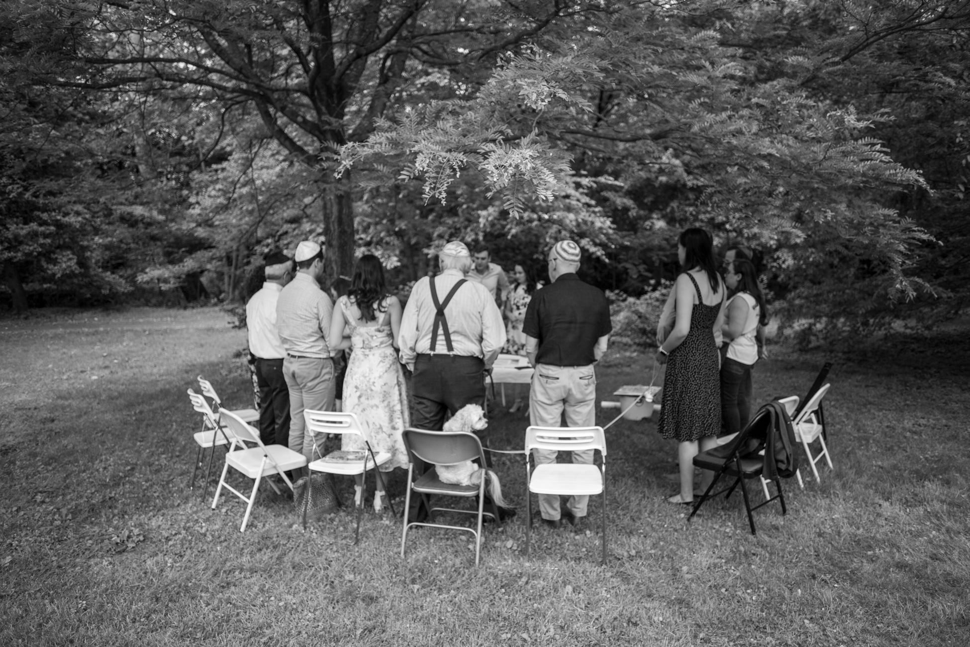 Elizabeth and Alex's Wedding Ceremony in Merion Botanical Gardens by Avi Loren Fox LLC-1.jpg