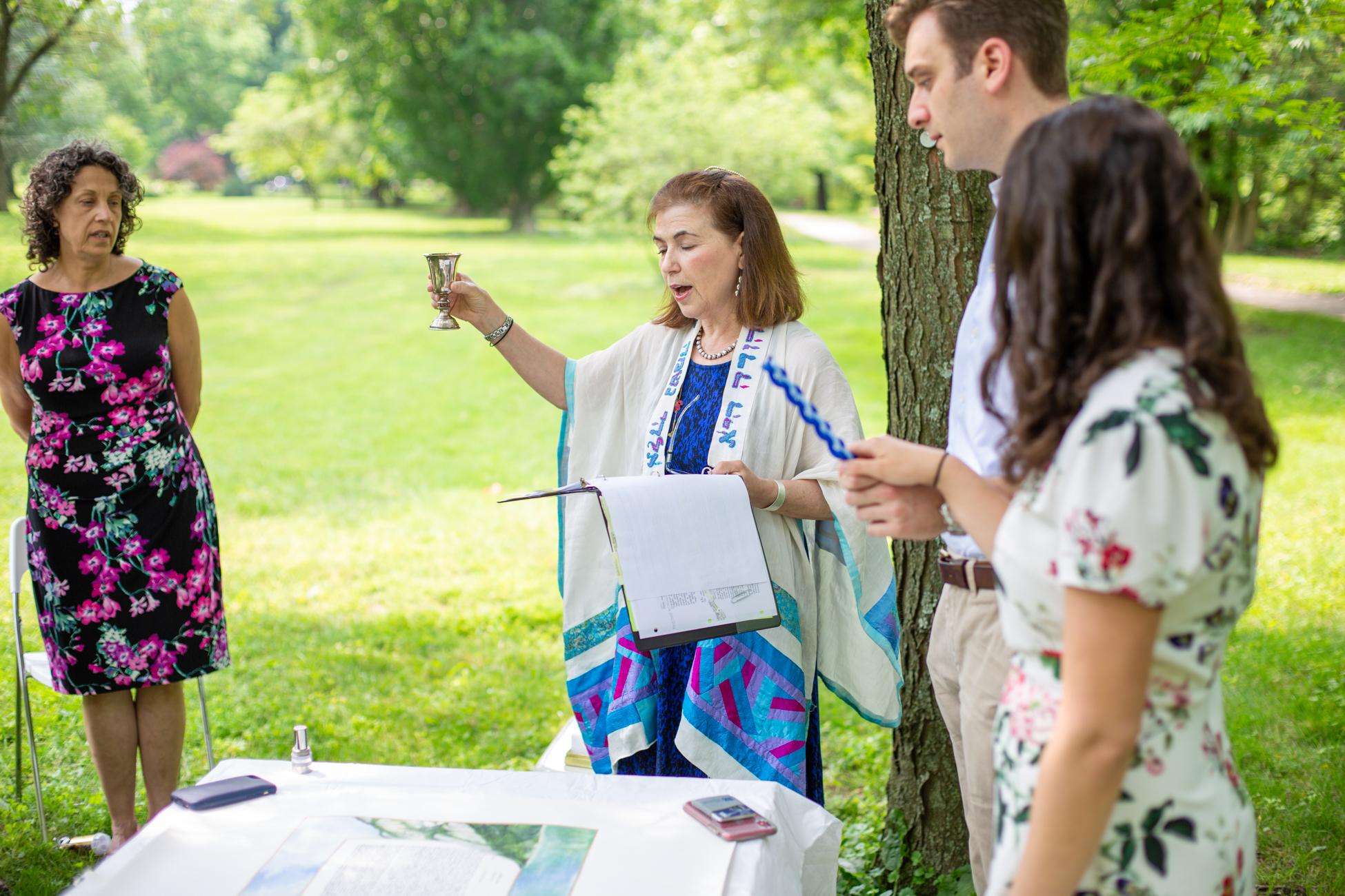Elizabeth and Alex's Wedding Ceremony in Merion Botanical Gardens by Avi Loren Fox LLC-4.jpg